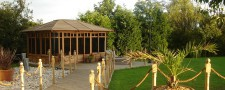 Landscaping, Summer House, Decking & Turfing